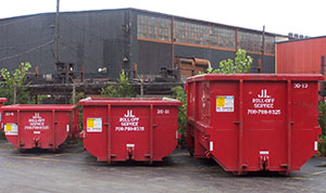 California dumpster sizes